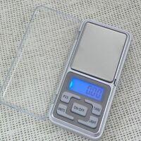 Pocket Digital Jewelry Scale Weight 500g x 0.01g 0.1g Balance Electronic Gram