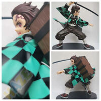 Anime Demon Slayer: Kimetsu no Yaiba Kamado Tanjirou Figure Toy 20cm PVC Statue