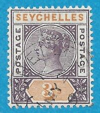 Used Postage Seychellois Stamps (Pre-1976)