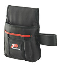 Technics Nail & Tool Pouch Pocket With Hammer Loop Heavy Duty Quality Tool Belt