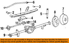 Jeep CHRYSLER OEM 87-95 Wrangler Rear Suspension-Spring 52003209