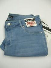 NWT Womens D. Jeans High Waist Straight Leg Sz 10