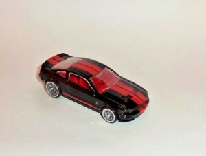 HOT WHEELS Loose SPEED MACHINES '07 Shelby GT500 (Black)