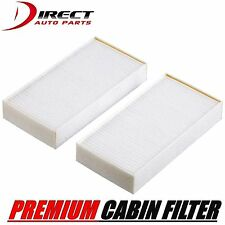 2PC CABIN AIR FILTER SET FOR INFINITI FITS QX56 2004 - 2010