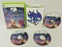 Blue Dragon - XBOX 360 Game - Rare  All 3 discs Rare DragonBall DBZ