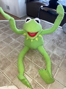 Kermit the Frog Bendable Plush Large Toy 1 Applause Vintage. Clean!