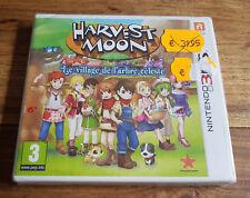HARVEST MOON LE VILLAGE DE L'ARBRE CÉLESTE Jeu Nintendo 3DS 2DS Neuf Blister VF