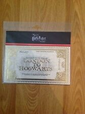 HARRY POTTER LONDON TO HOGWARTS  & HOGWARTS TO LONDON TRAIN TICKETS REPLICA