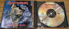Iron Maiden No Prayer for The Dying CD UK 1990 1st Press EMI Swindon Excellent