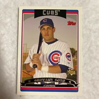 Geovany Soto Chicago Cubs 2006 Topps Rookie Card RC MLB Baseball Card
