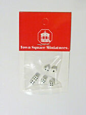 Dollhouse Miniature Tiny Sets of Dice, IM57055