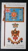 Royal Irish Fusiliers    Superb Original 1904 Vintage Colour Card  VGC