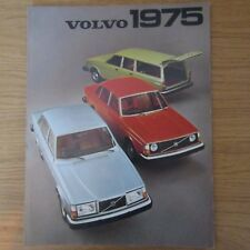 VOLVO 244DL 244GL Saloon 245DL Estate 264DL 244 245 264 DL GL UK Brochure 1975