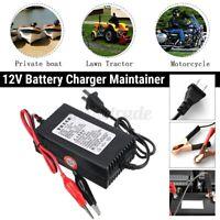 12V Smart Carica Batteria Caricabatterie Manutenzione 2A Per Mantenitore Rv Auto