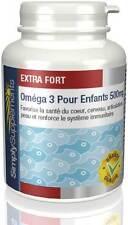 Oméga 3 500mg pour enfants - riche en EPA & DHA -  180 Gélules