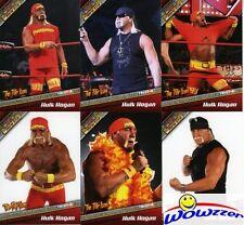 (5) 2010 Tristar TNA New Era HULK HOGAN Bonus Edition Silver LE#'d 6 Card Set MT