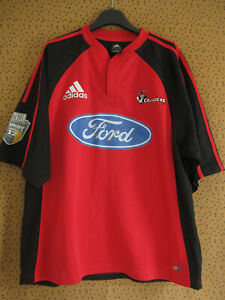 Maillot Rugby Adidas Crusaders Ford Vintage rouge jersey - L