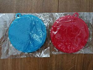 UK Silicone Multipurpose Sponge Dish Washing Scrubber Kitchen Pad (pack of 2)
