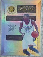 KEVIN DURANT 2010-11 GOLD STANDARD GOLD BARS CARD #1 224/299 GOLDEN STATE