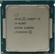Intel 4-Core i3-8100T CPU Coffee Lake 3.10 GHz FCLGA1151 35W Desktop Processor