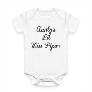 Cute Baby Clothes - Romper with print - Aunty's Lil Miss Piper