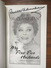 My First Five Husbands. . : And the Ones Who Got Away by Rue McClanahan signed