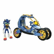 Sonic Boom -  Blue Force One 3-in-1 Transforming Bike Vehicle with Sonic Figure