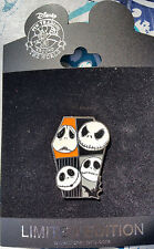 DISNEYSTORE NIGHTMARE BEFORE CHRISTMAS MANY FACES OF DISNEY JACK SKELLINGTON PIN