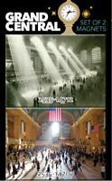 Grand Central Station New York Magnet 2er Set Souvenir USA Amerika,8 cm