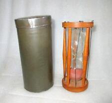 Antique Old Wooden Original Hourglass Sand Glass 48 min. Timer Sand Clock Watch