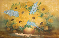 Impressionist floral still life oil painting