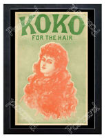 Historic Koko for the Hair, London 1880s Advertising Postcard 2