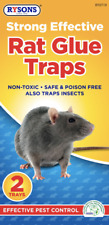 Rat Mice Mouse Trap Mouse Catcher Pad - Super Strong and Safe, Rodents, NonToxic