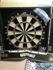 Winmau Rebel Cabinet Dartboard Complete Set Dart Board Darts Game