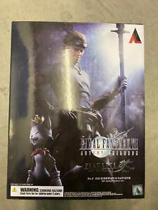Final Fantasy VII Advent Children Cid Highwind Play Arts Kai Figur