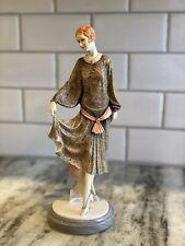 Royal Doulton Felicity Classique Figurine With Marble Base. Cl 3986. Circa 1997.