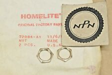 NOS OEM Homelite C-5 C-9 Super 2100 Super XL XL-500 Chain Saw On Off Switch Nuts