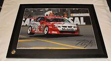 Holden Racing Team HRT Jason Bright 2002 V8 Supercar Signed Framed Print X-Large