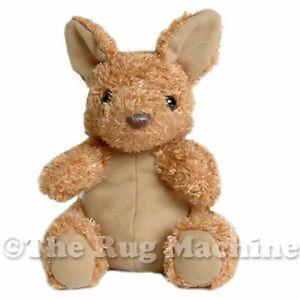 DINKI DI BABIES AUSTRALIA KANGEROO SOFT ANIMAL PLUSH TOY 14cm **NEW**