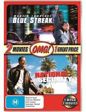 Blue Streak / National Security (DVD, 2011) VGC Pre-owned (D105)