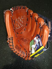 "WILSON A2K ASO-W PRO STOCK SELECT BASEBALL GLOVE - 12"" RH $359.99"