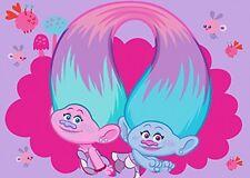 Associated Weavers niños esquina 634083 Alfombra Decoración Trolls Super Cool.