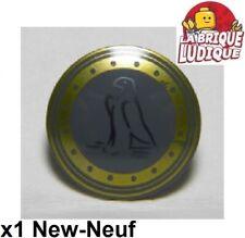 Ersatz Aufkleber//Sticker für LEGO Castle Shield Torso Crusader Lion Blue