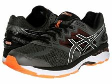 New Asics T608N.9790 GT 2000 4 Carbon / Black Men's Running Shoes Size 7 4E US