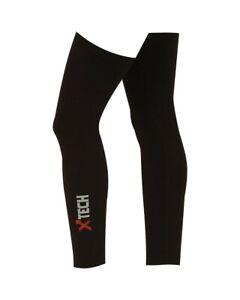 XTech Leg Warmers XT76 Unisex, Black