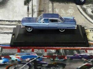 Oxford Die cast Vehicles 1/87 HO scale '61 Cadillac DeVille Nautlas Blue NIB