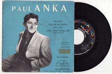 EP PAUL ANKA-RED SAIL-FRENCH