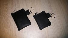 100% REAL GENUINE LEATHER KEYRING KEY POUCH PURSE WALLET BAGS N
