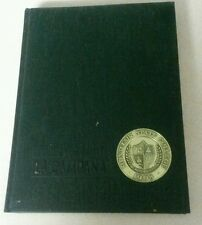 1968 MONTCLAIR STATE COLLEGE YEARBOOK*la campana*NEW JERSEY nice used no writing