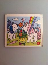 Vintage My Little Pony Baby Glory & Moon Dancer G1 Picture Album Mini Card